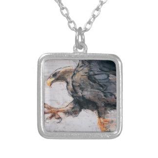 Talons - Weiß angebundenes Meer Eagle 2001 Versilberte Kette