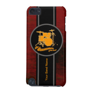 tambour jaune personnalisable coque iPod touch 5G