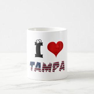 Tampa-Liebe-Florida-Herz-amerikanische Tasse