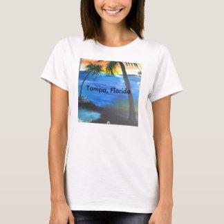 Tampa-Strandszene T-Shirt
