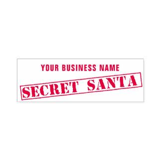 Tampon Auto-encreur Tampon en caoutchouc secret de Père Noël de raison