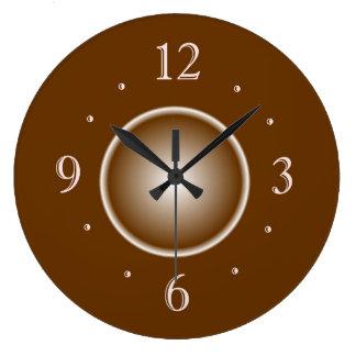 TAN Brown mit Weißglühen-Effekt > einfache Uhren