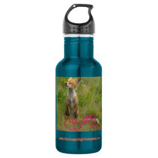 Tangente-Mädchen-Volumen-Flasche (zusätzliche Edelstahlflasche