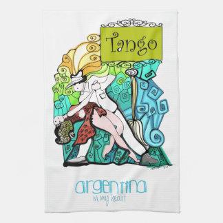 TANGO Argentinien in meinem Herzen Küchenhandtücher