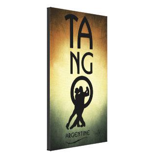 Tango-Argentinien-Tänzer-Leinwand-Kunst Leinwanddrucke