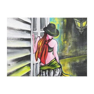 Tango Arrabalera Leinwand Drucke