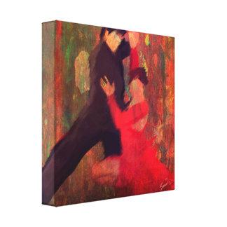 Tango de Fuego Leinwand Druck