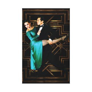 Tango Galerie Gefaltete Leinwand