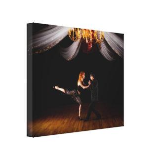 Tango Gespannter Galeriedruck