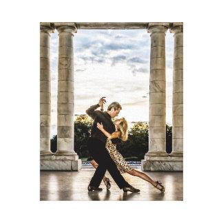 Tango im Park Gespannte Galeriedrucke