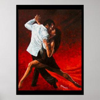 Tango im Rot Poster