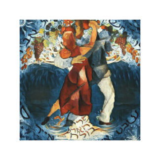 Tango-Liebe Leinwanddruck