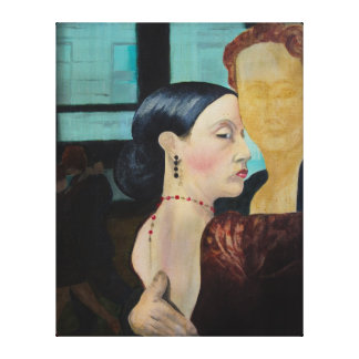 Tango-Mädchen Galerie Faltleinwand