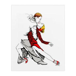 Tango Romance Acryldruck