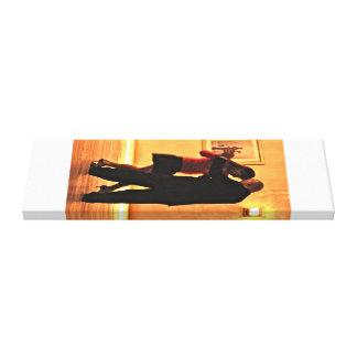 Tango-Tänzer Gespannter Galeriedruck