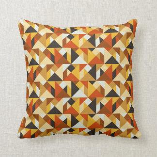 Tangram deckt geometrisches Muster-Wurfs-Kissen Kissen