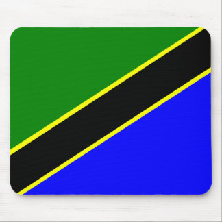 Tansania-Flagge Mauspads