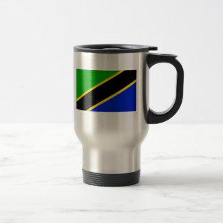 Tansania-Flagge Reisebecher