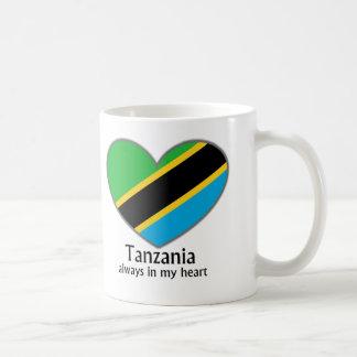 Tansania immer in meinem Herzen Kaffeetasse