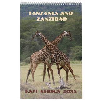 Tansania und Sansibar Abreißkalender