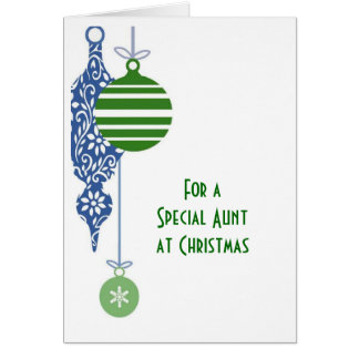 Tante Christmas Christmas Karte