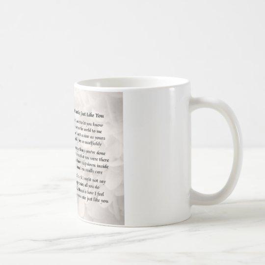 Tante Poem - Rosenentwurf Tasse