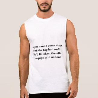 Tanz mit dem großen schlechten Wolf Ärmelloses Shirt