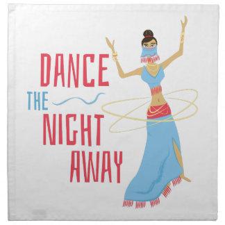 Tanz-Nacht weg Stoffserviette