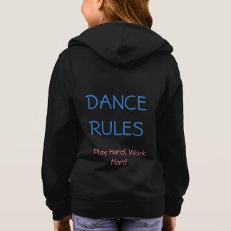 Tanz ordnet HOODIE an