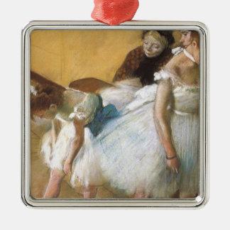 Tanz-Prüfung durch Edgar entgasen, Vintages Silbernes Ornament