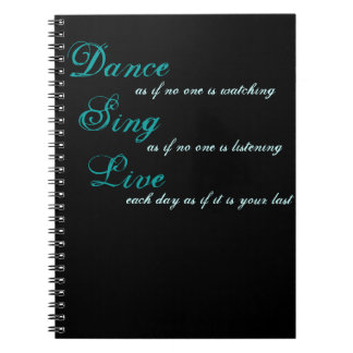 Tanz singen Live… Notizbücher