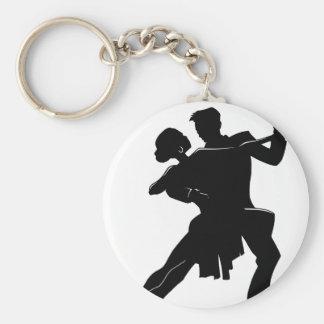 Tanz Standard Runder Schlüsselanhänger