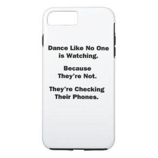 Tanz wie niemand passt auf iPhone 8 plus/7 plus hülle