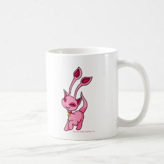 Tänzelndes rosa Aisha Kaffeetasse