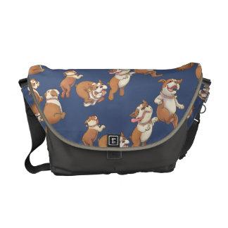 Tanzen-Bulldogge Kurier Tasche