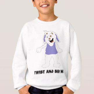 Tanzen-Cartoon-Kaninchen Sweatshirt
