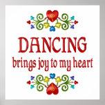 Tanzen-Freude Plakate