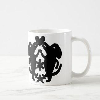 Tanzen-Hunde Kaffeetasse