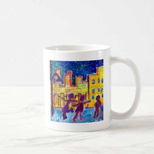 Tanzen in die Straße durch Piliero Kaffeetasse