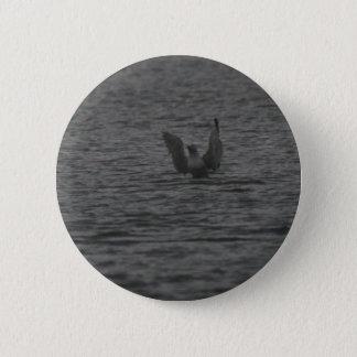 Tanzen-Seemöwe Runder Button 5,7 Cm