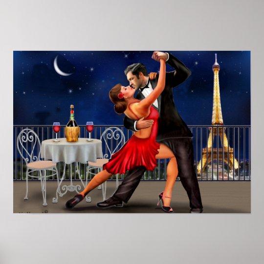 Tanzen unter die Sterne Poster
