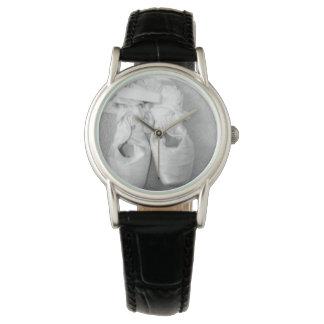 Tänzer-Ballett-Schuh-Uhr Uhr