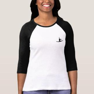 Tänzer-Baseball-T-Shirt mit Taschen-Tänzer T-Shirt