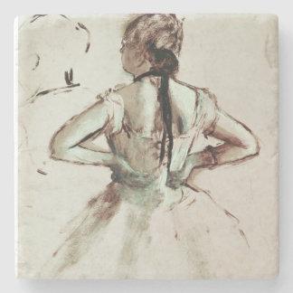 Tänzer Edgar Degass | angesehen von der Rückseite Steinuntersetzer