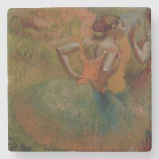 Tänzer Edgar Degass |, die Grün-Röcke tragen Steinuntersetzer
