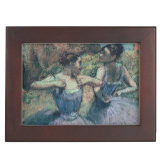 Tänzer Edgar Degass | im Veilchen Erinnerungsdose