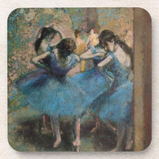 Tänzer Edgar Degass | in Blau, 1890 Getränkeuntersetzer