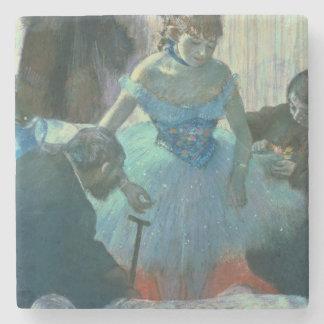 Tänzer Edgar Degass | in ihrer Umkleidekabine Steinuntersetzer
