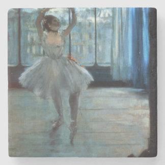 Tänzer Edgar Degass | vor einem Fenster Steinuntersetzer
