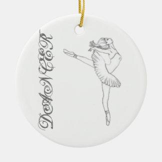 Tänzerverzierung Keramik Ornament